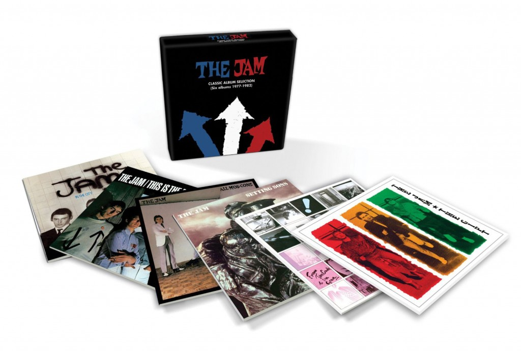 The Jam / Classic Albums 1977-1982 box set