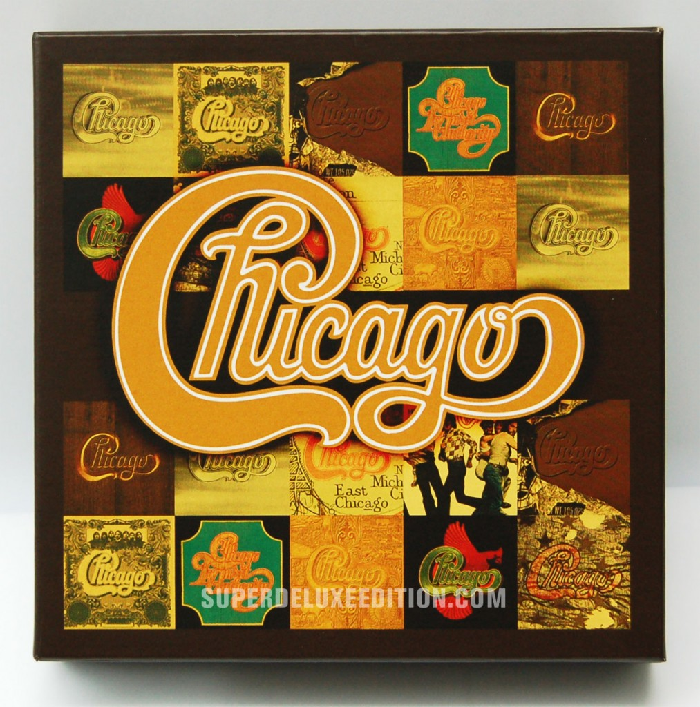 FIRST PICTURES: Chicago The Studio Albums 1969-1978 box set