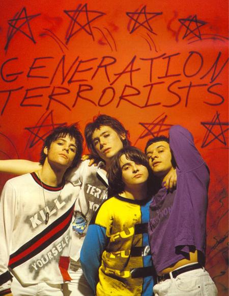 Manic Street Preachers / Generation Terrorists reissue track listing