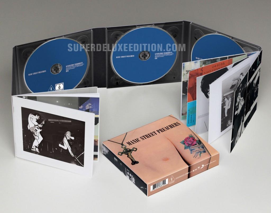 Manic Street Preachers / Generation Terrorists 3-disc set