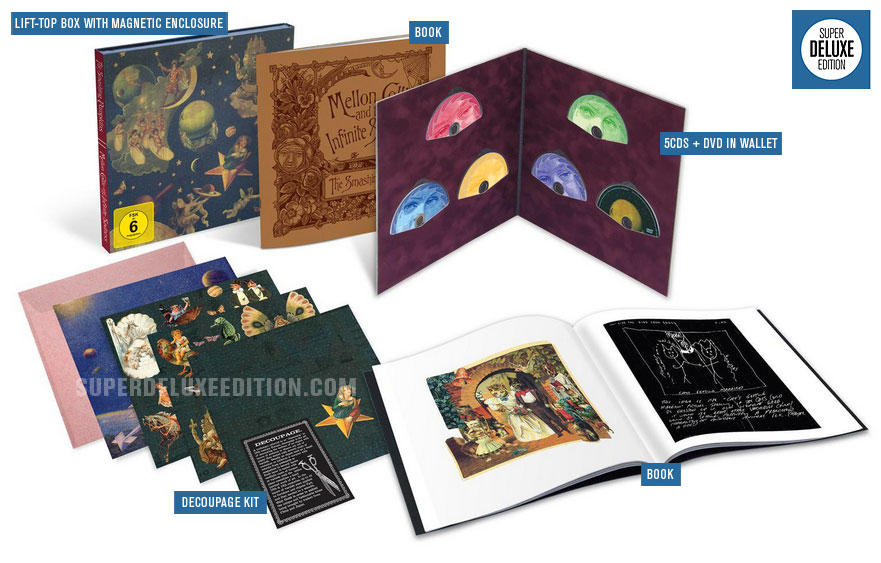 Smashing Pumpkins / Mellon Collie and the Infinite Sadness 5CD+DVD box set