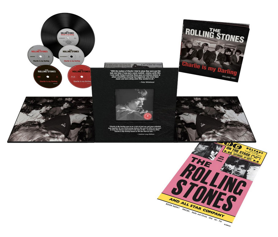 The Rolling Stones / Charlie Is My Darling 5-disc super deluxe set