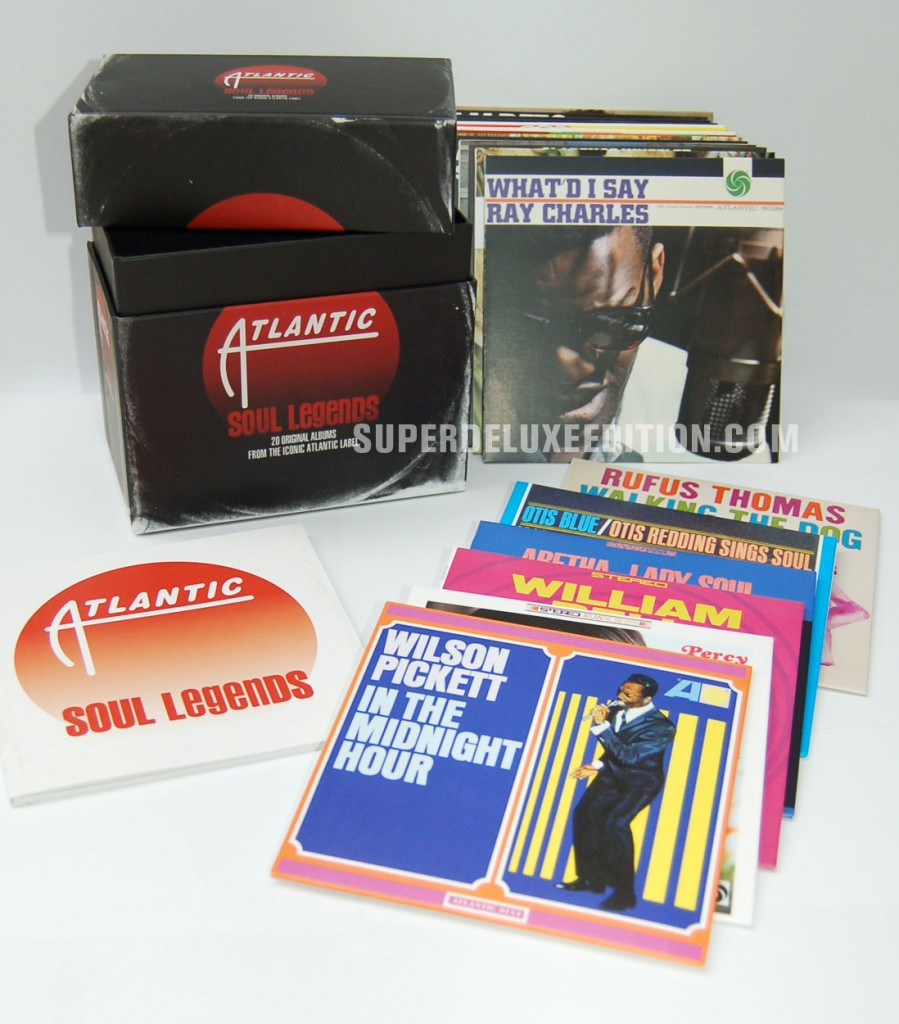 Atlantic Soul Legends / 20CD box set