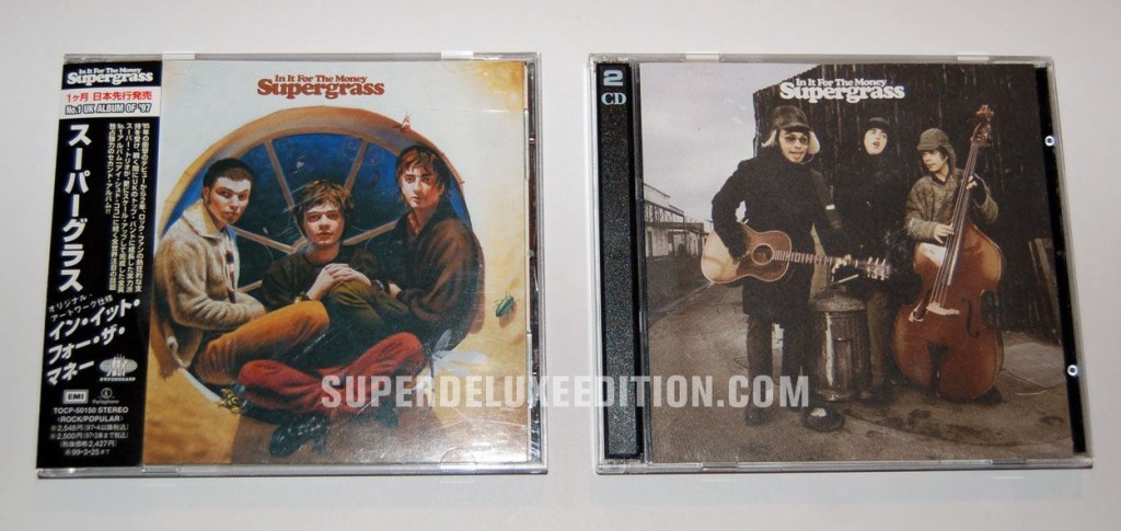 Supergrass / In It For The Money / Japanese CD of the day