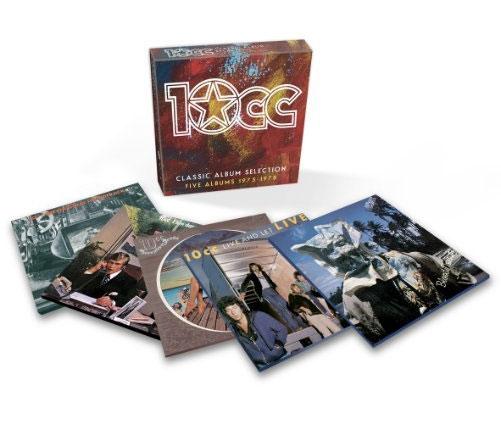 10cc / Classic Albums box set