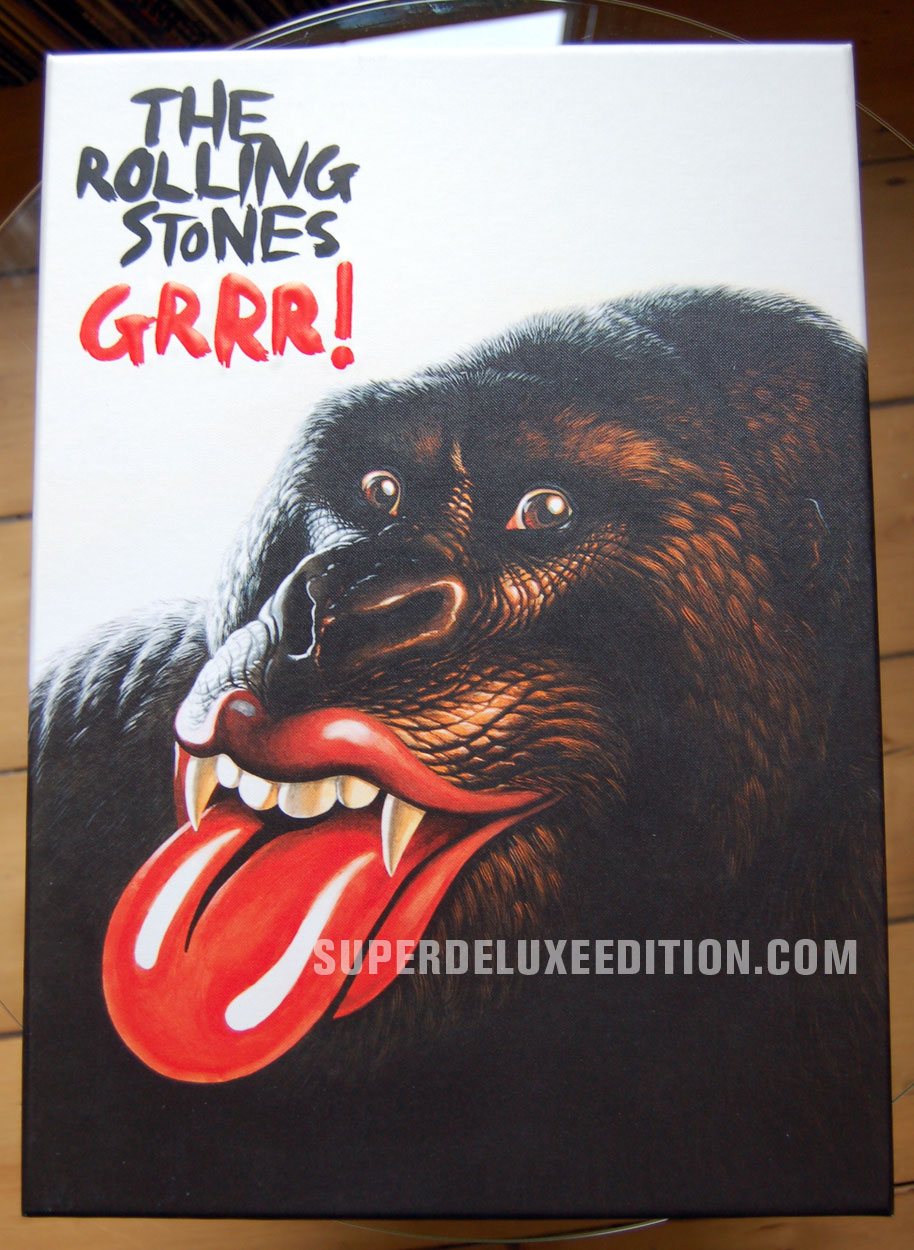 FIRST PICTURES: The Rolling Stones / GRRR! Super Deluxe Edition