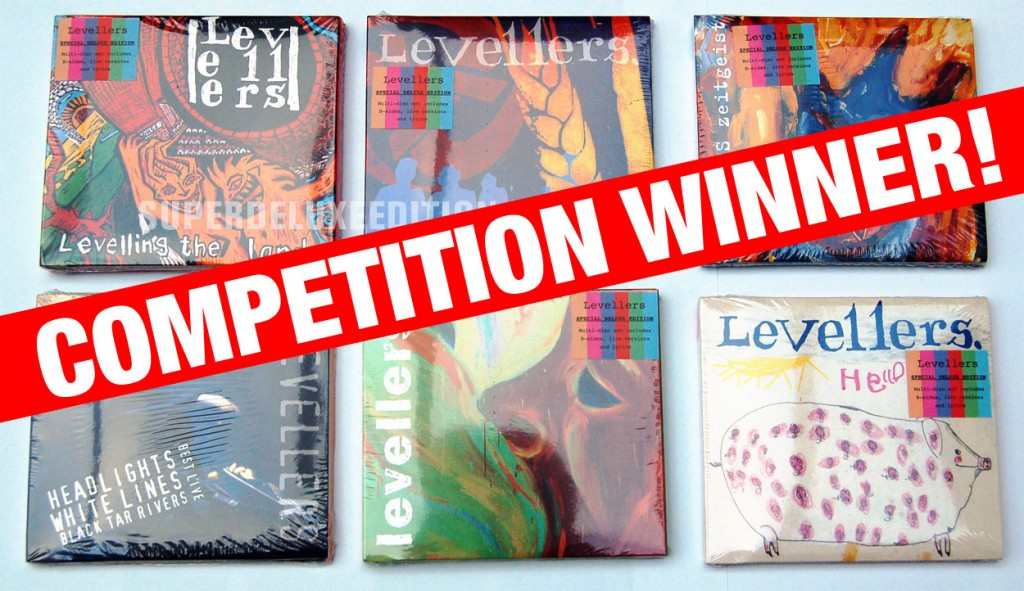 Competition winner! Levellers reissues