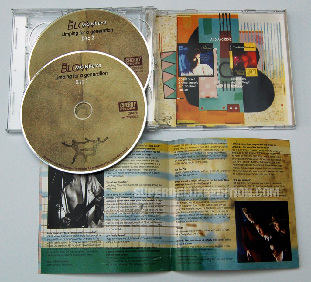The Blow Monkeys / Limping For A Generation 2CD reissue