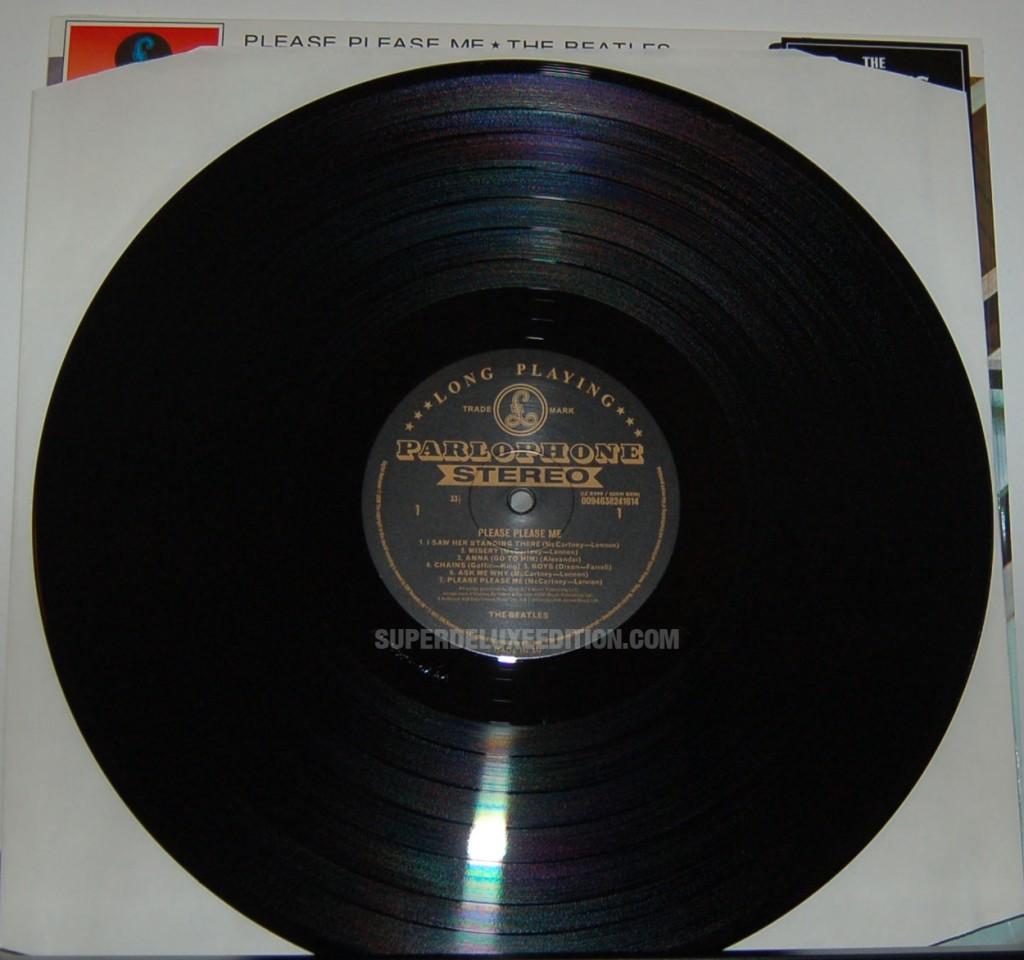 The Beatles / Please Please Me Stereo Vinyl Remasters