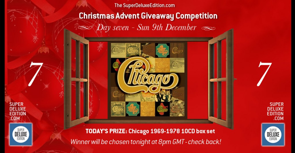 Christmas Advent Giveaway competition / Day Seven: The Prize