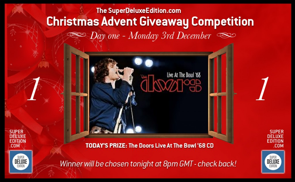 The Christmas Advent Giveaway / Day One: The Prize