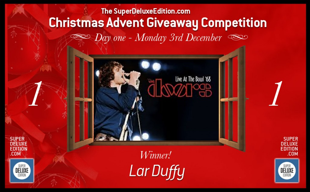 Christmas Advent Giveaway / Day 1: Winner