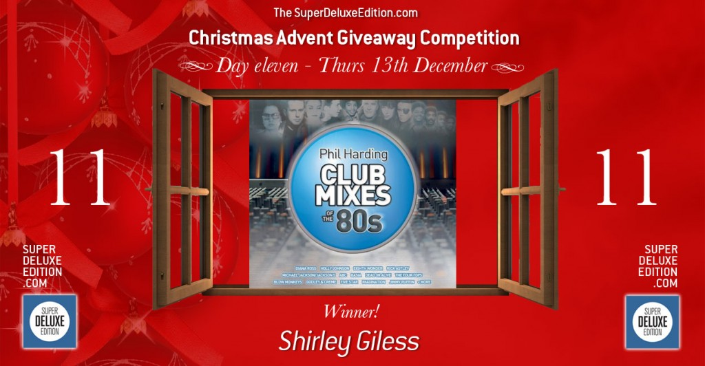 Christmas Advent Giveaway competition / Day 11: The Winner