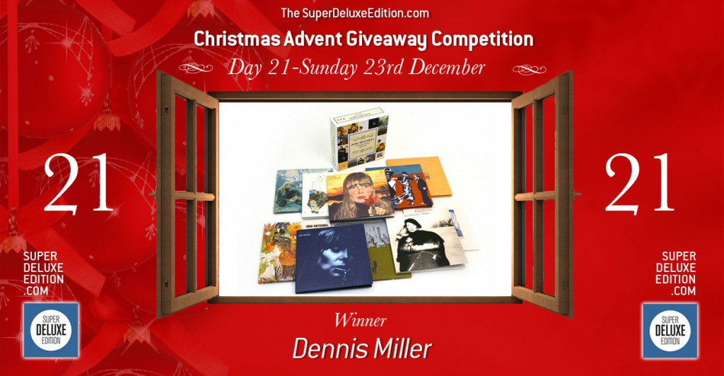 Christmas Advent Giveaway competition / Day 21: The Winner