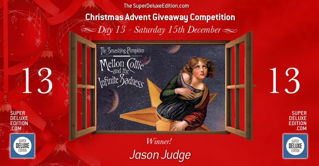 Christmas Advent Giveaway competition / Day 13: The Winner