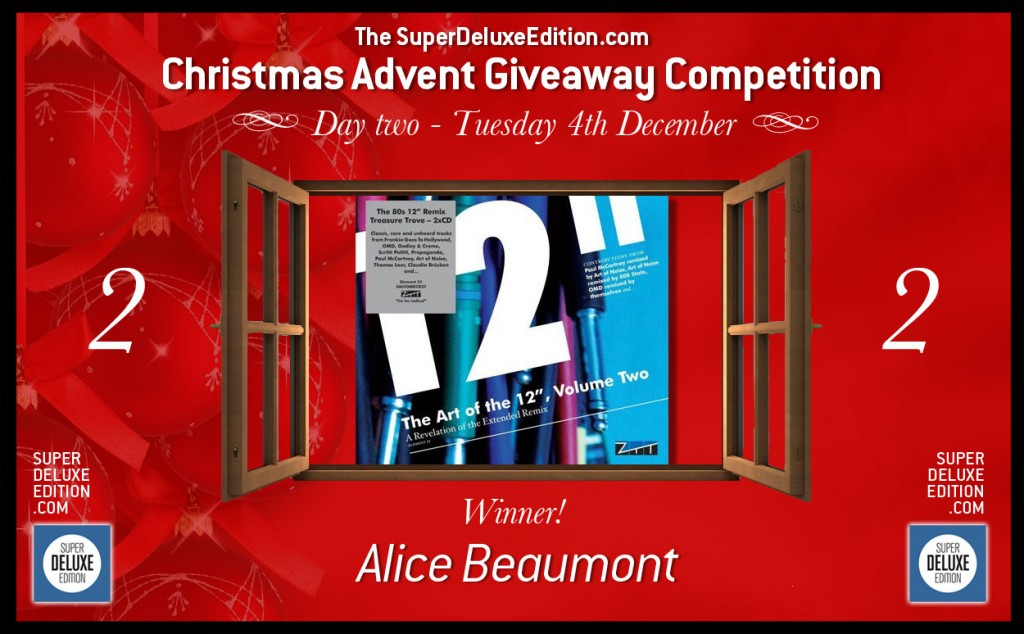 Christmas Advent Giveaway / Day 2: The Winner