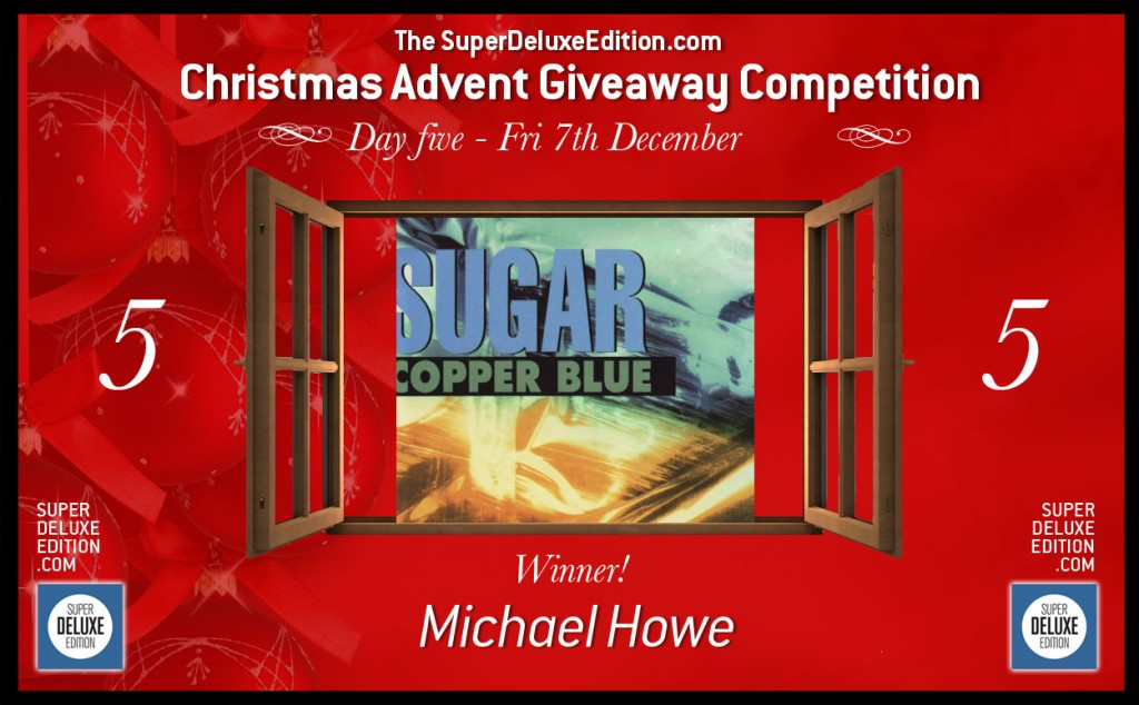Christmas Advent Giveaway Competition / Day Five: The Winner