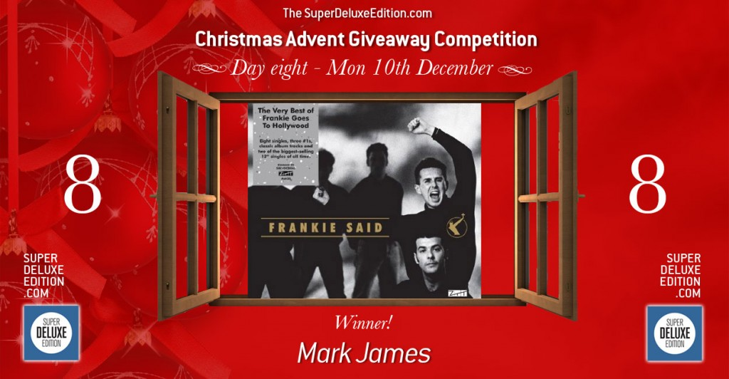 Christmas Advent Giveaway competition / Day 8 / The Winner