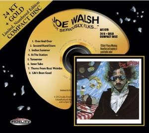 Joe Walsh / But Seriously Folks / Audio Fidelity release
