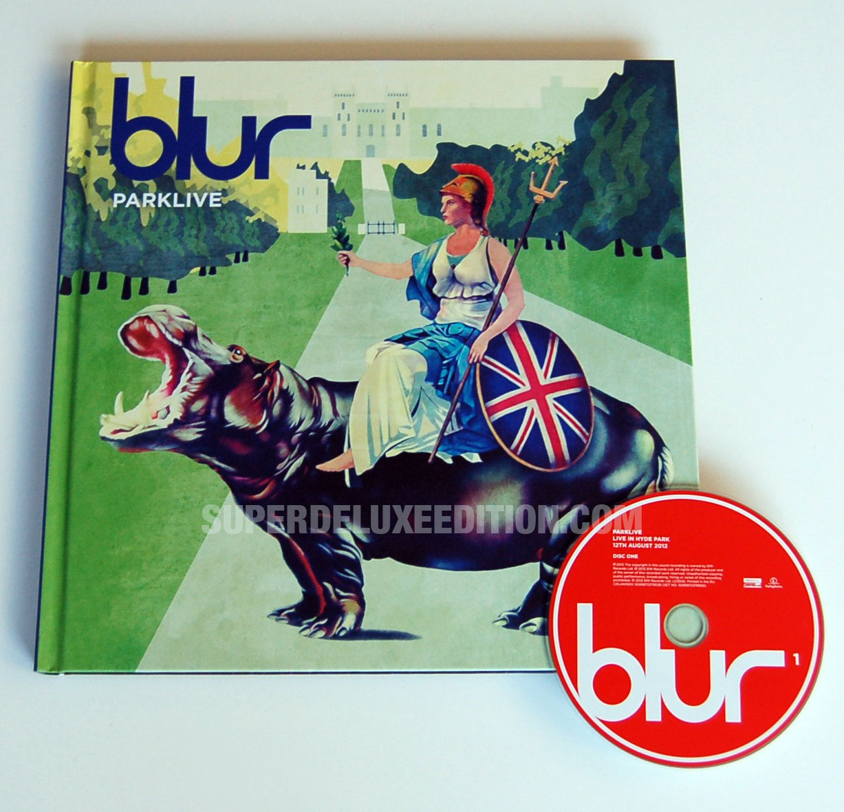 FIRST PICTURES / Blur Parklive 5-disc book edition