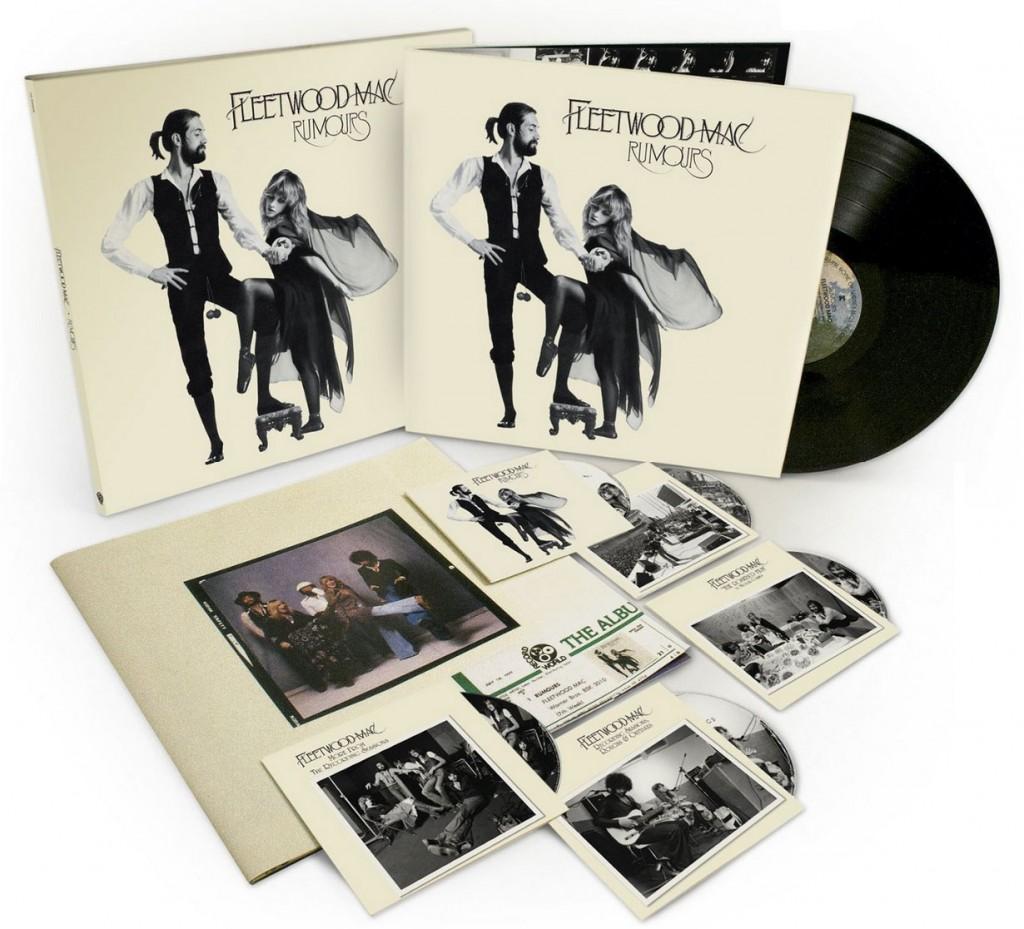 Fleetwood Mac / Rumours 35th Anniversary Super Deluxe Edition box set reissue 2013