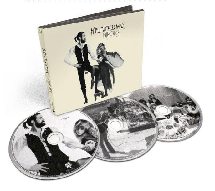 Fleetwood Mac / Rumours 35th Anniversary 3CD reissue 2013