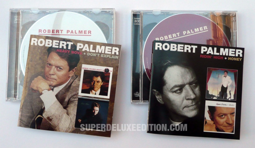 Robert Palmer / Heavy Nova / Don't Explain / Ridin' High / Honey reissues