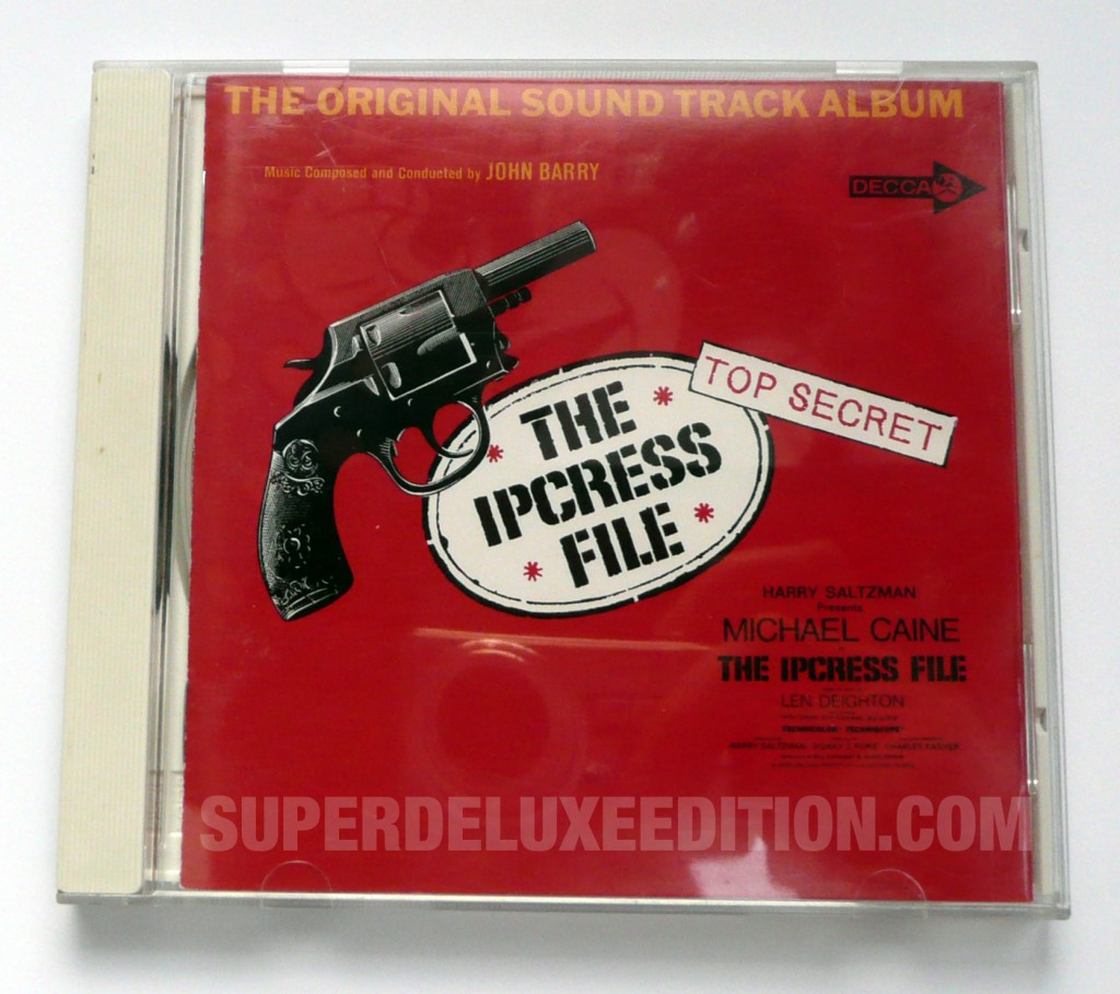 Japanese CD of the Day / The Ipcress File by John Barry