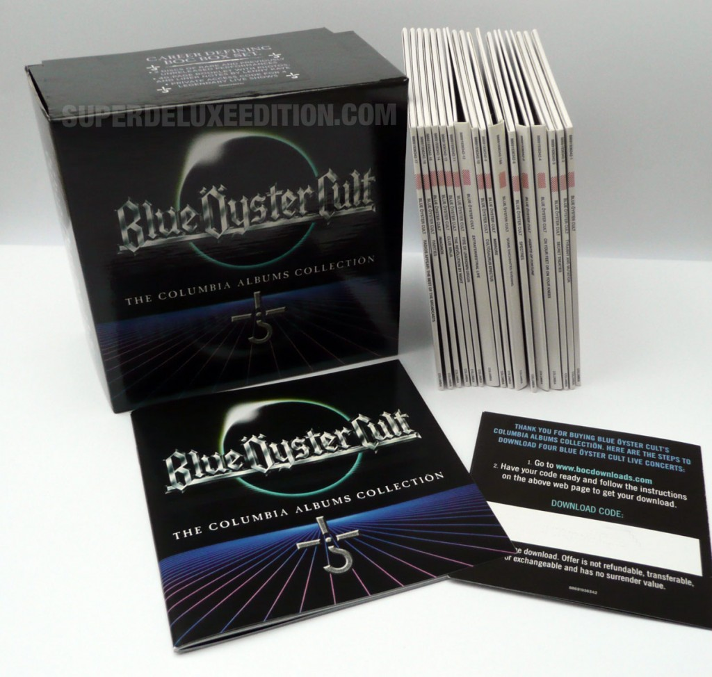 FIRST PICTURES / Blue Oyster Cult: The Columbia Albums Collection