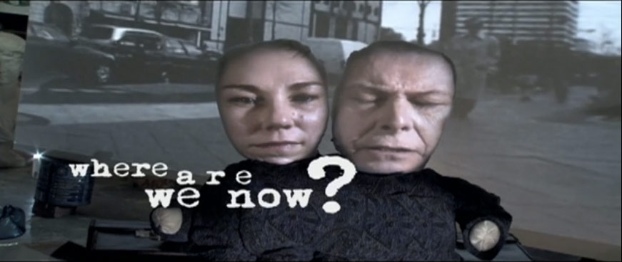 David Bowie / new single Where Are We Now - new album The Next Day