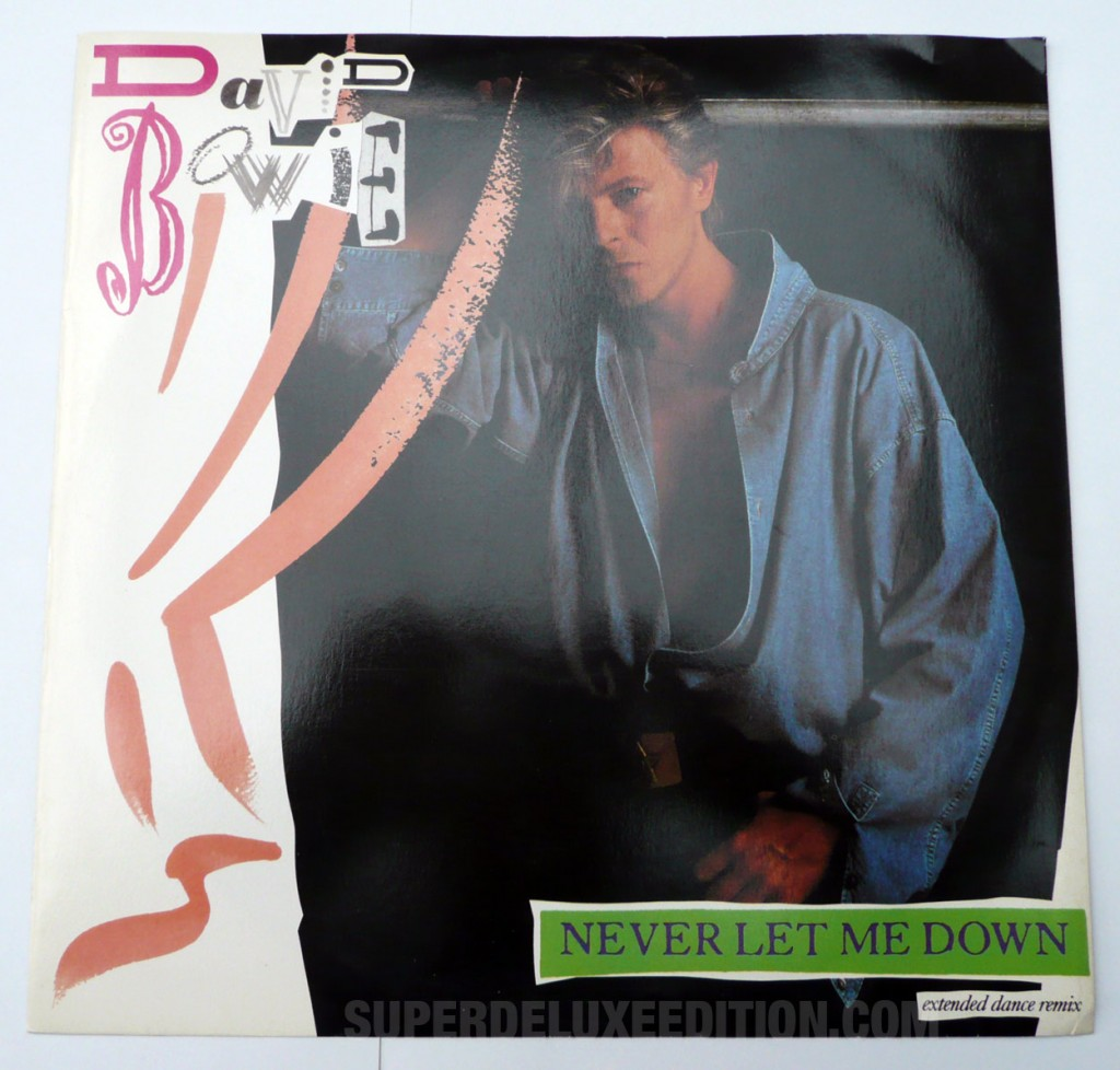 "David Bowie / Never Let Me Down UK 12"" single"