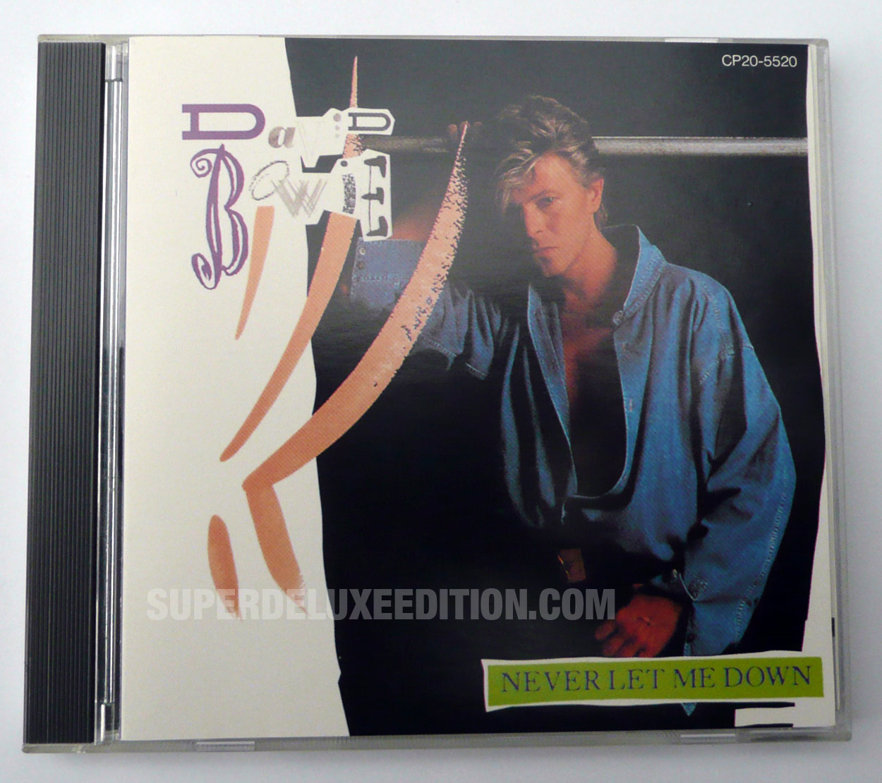 David Bowie / Never Let Me Down Japanese CD single