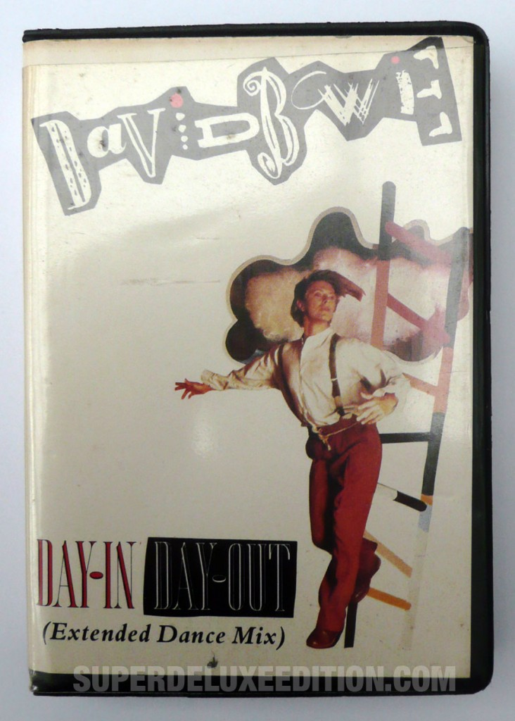 David Bowie / Day-In Day-Out UK Cassette single
