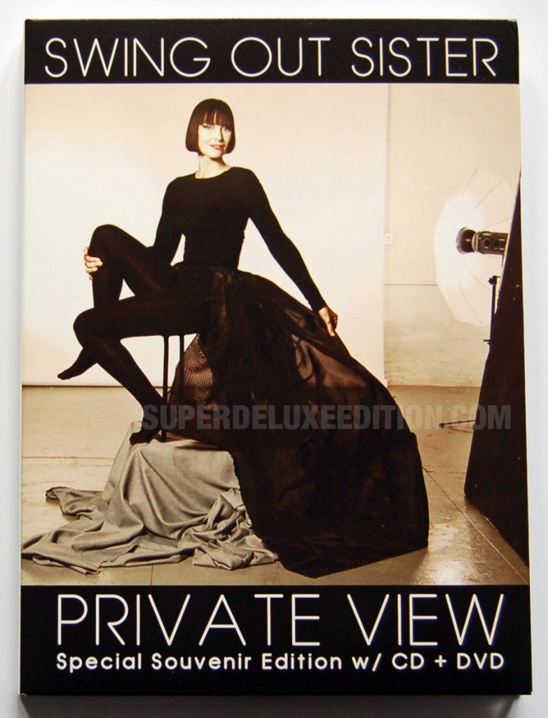 Swing Out Sister / Private View deluxe CD+DVD edition