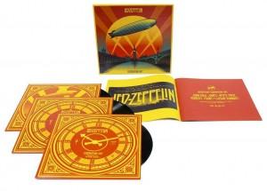 Led Zeppelin / Celebration Day triple deluxe vinyl set