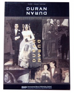 Duran Duran / The Wedding Album Music Book