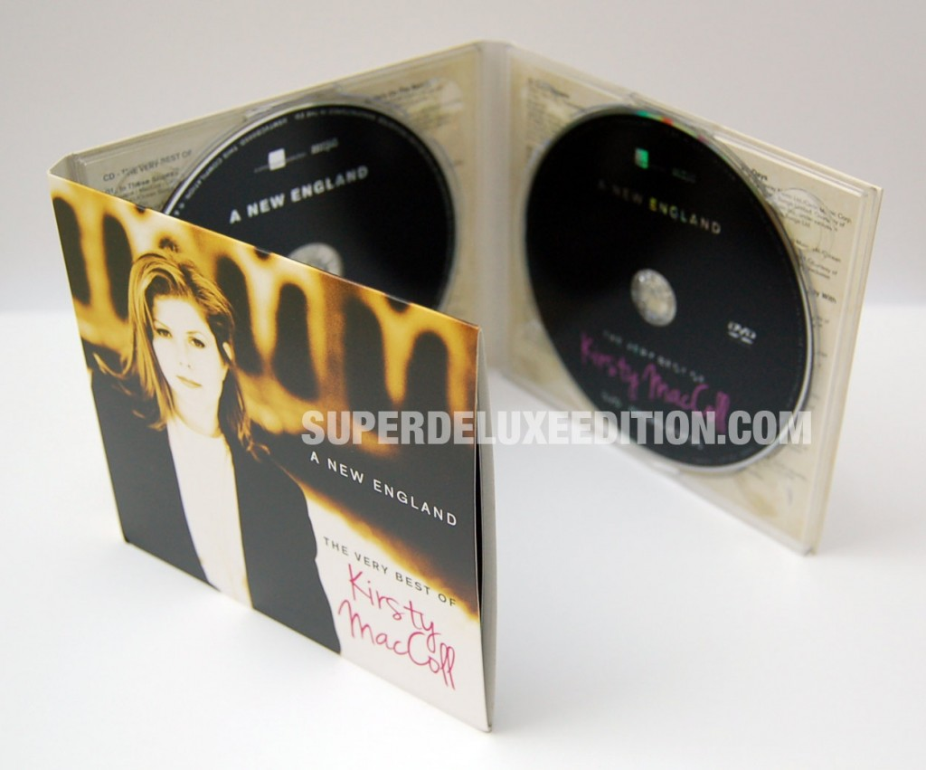 FIRST PICTURES / A New England: The Very Best Of Kirsty MacColl CD+DVD