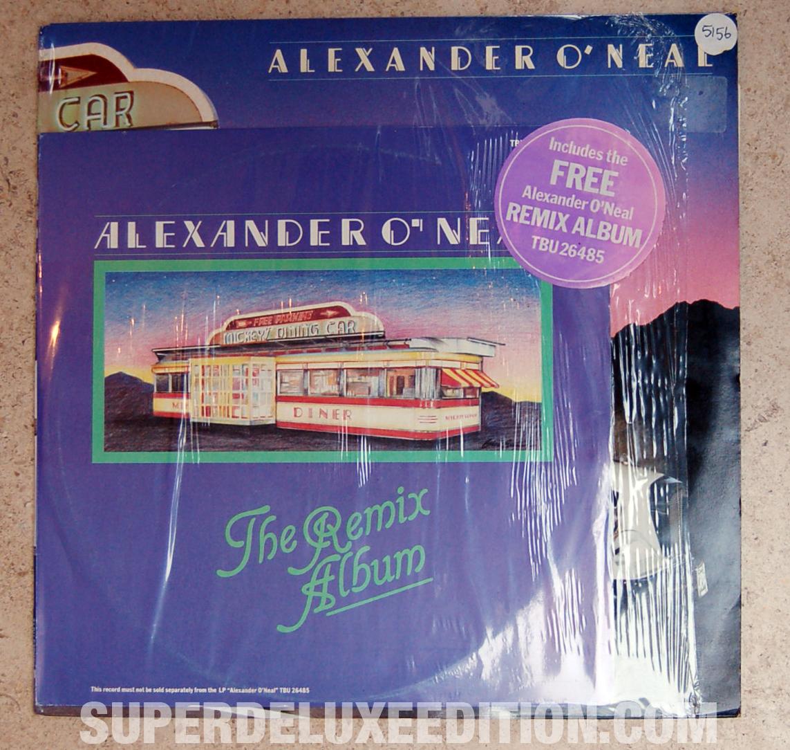 Original Alexander O'Neal LP with bonus remix album