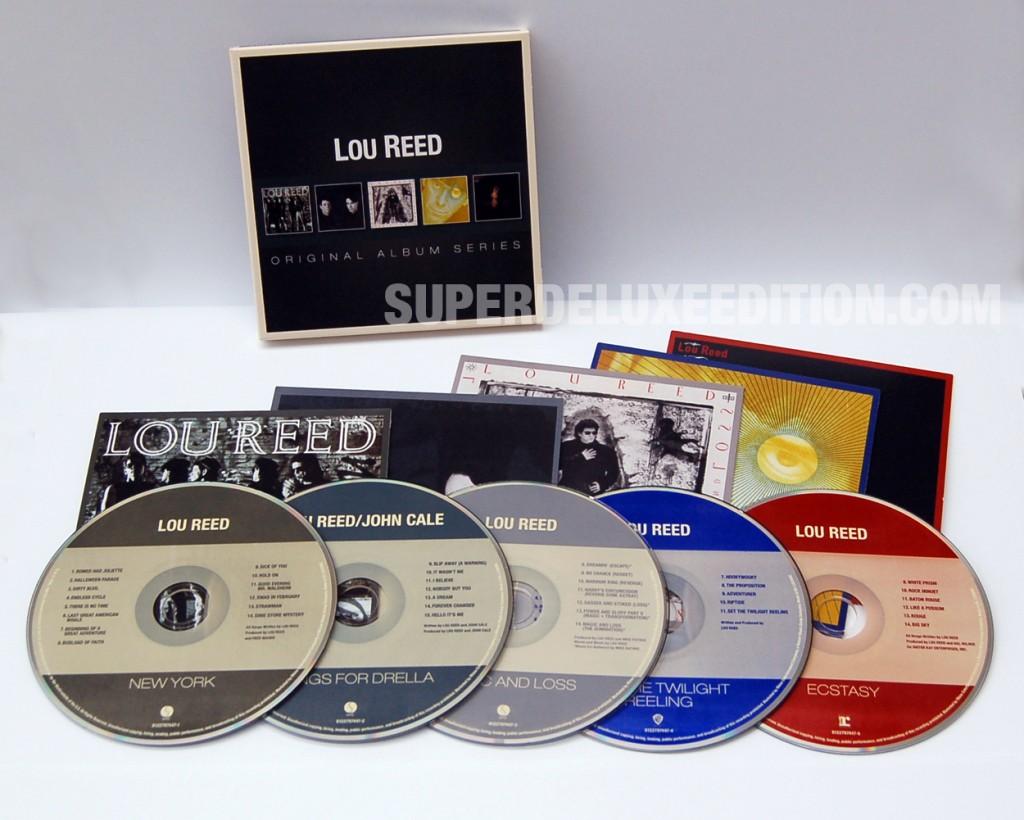 Lou Reed / Original Album Series 5CD box set
