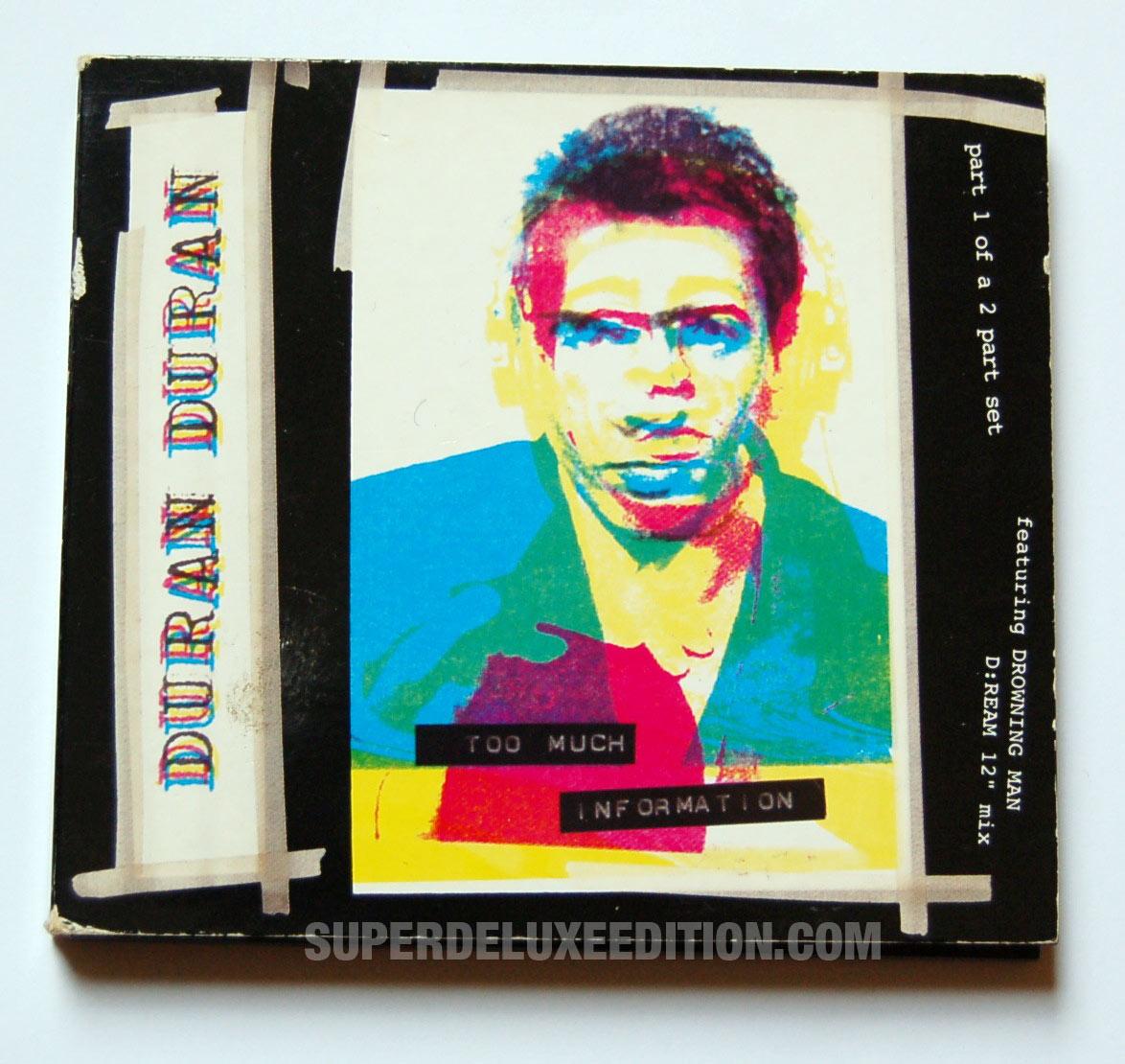 Duran Duran / Too Much Information UK CD Single
