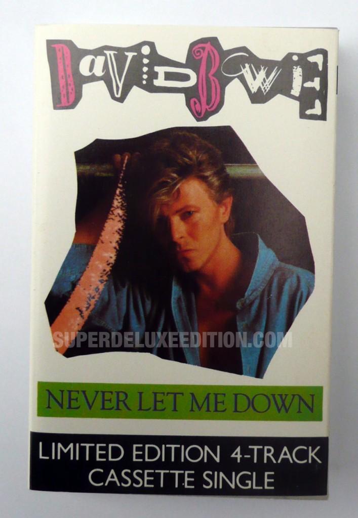 David Bowie / Never Let Me Down UK cassette single