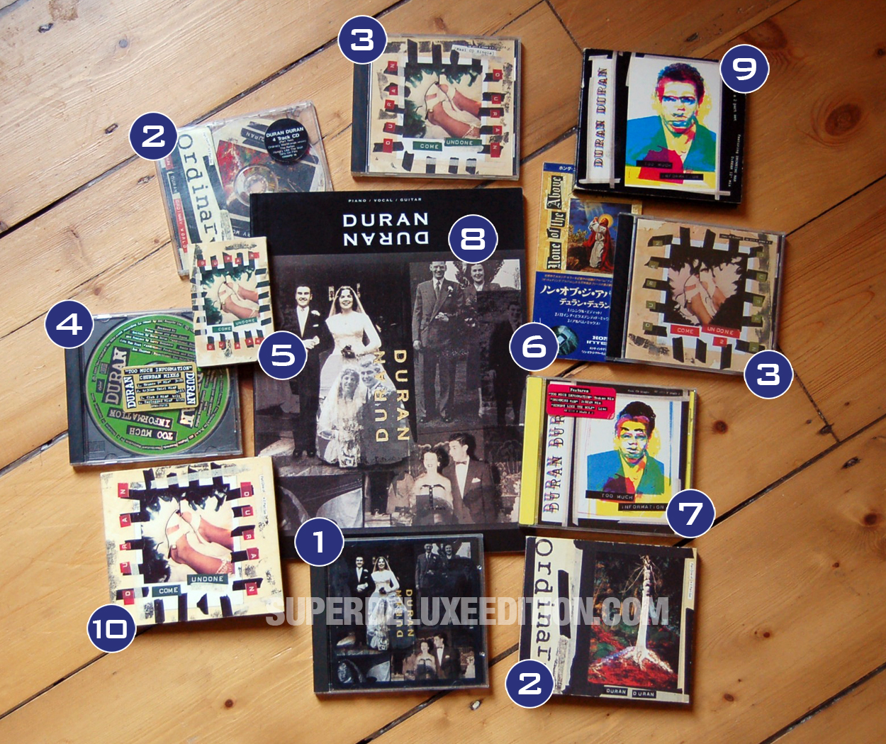 RECORD COLLECTOR: Duran Duran The Wedding Album 1993