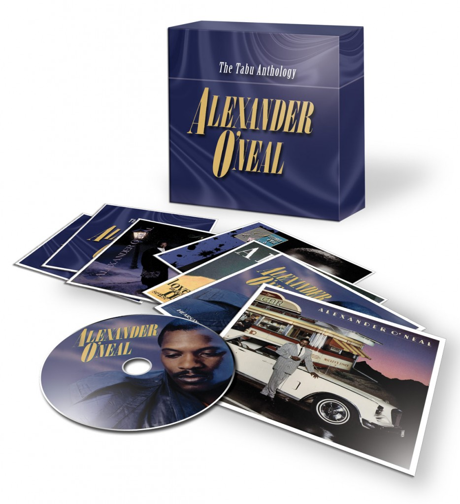 Alexander O'Neal / Tabu Anthology box set