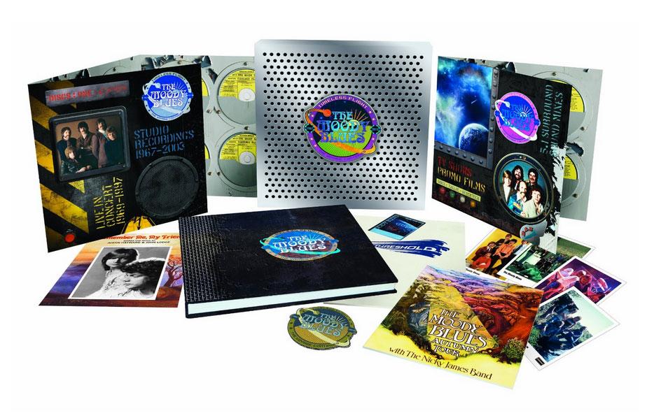 The Moody Blues / Timeless Flight 17-disc box set