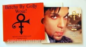 Prince / Betcha By Golly Wow! / UK CD single