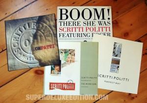 """Scritti Politti / Boom! There She Was 12"""" single"""