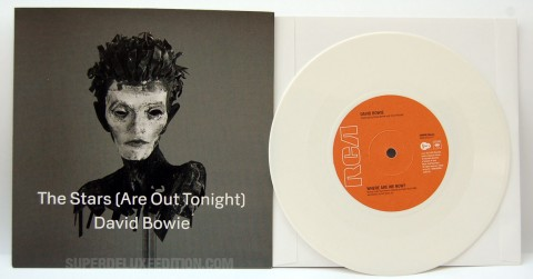"""David Bowie / The Stars (Are Out Tonight) white vinyl 7"""""""