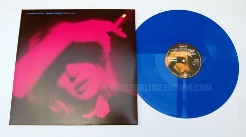 Marianne Faithfull / Broken English original mix blue vinyl LP