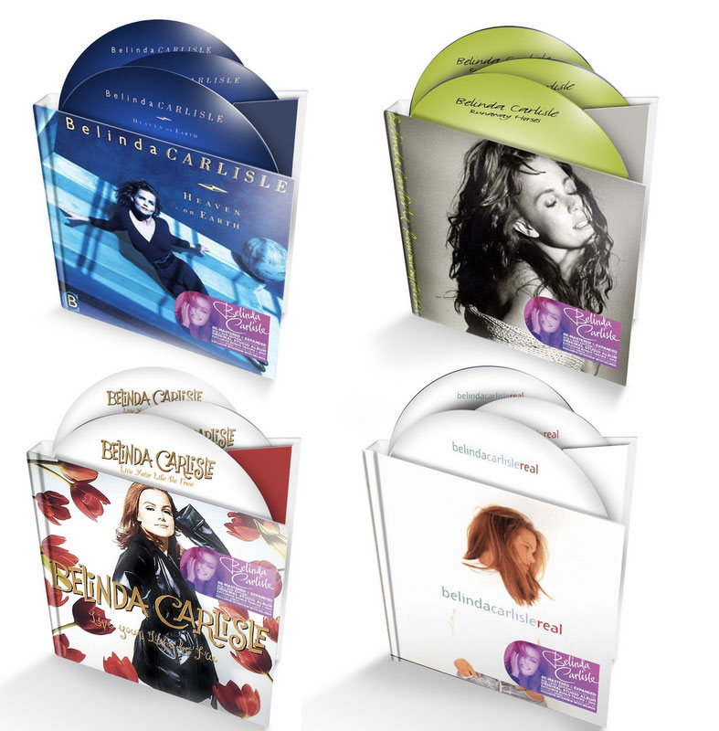 Belinda Carlisle / Edsel 2CD+DVD reissues