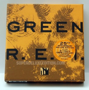 R.E.M. / Green 25th Anniversary Edition 2CD box set